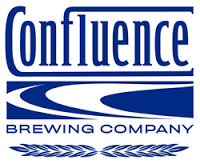 Confluence Blue Corn Lager With Chiles beer Label Full Size