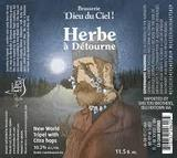 Dieu du Ciel L'Herbe à Détourne beer