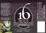 16 Mile Responders Ale beer
