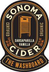 Sonoma The Anvil Bourbon Barrel Aged Cider beer Label Full Size