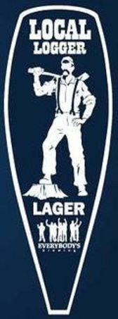 Everybody's Local Logger Lager beer Label Full Size