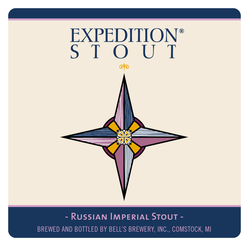 Bell's Expedition Stout beer Label Full Size