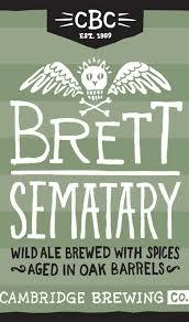 Cambridge Brett Semetary Beer