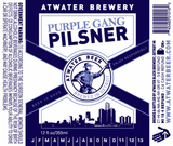 Atwater Purple Gang Pilsner Beer