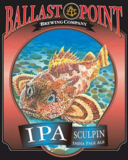 Ballast Point Sculpin IPA Nitro beer