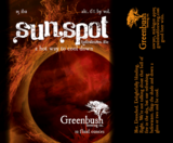 Greenbush Sunspot beer