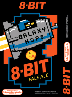 Tallgrass 8-Bit Pale Ale beer Label Full Size