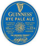 Guinness Rye Pale Ale beer