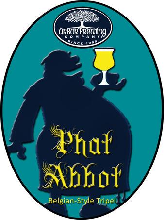 Arbor Phat Abbot Belgian Tripel beer Label Full Size