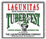 Lagunitas Tuberfest beer