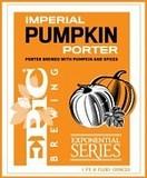 Epic Imperial Pumpkin Porter Nitro beer