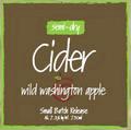 Tieton Cider Works Wild Washington Apple beer Label Full Size