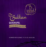8 Wired The Sultan Quadrupel beer