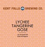 Kent Falls Lychee Tangerine Gose beer