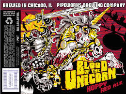 Pipeworks Blood of the Unicorn Strong Ale Beer