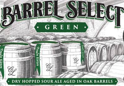 Captain Lawrence Barrel Select Green beer Label Full Size