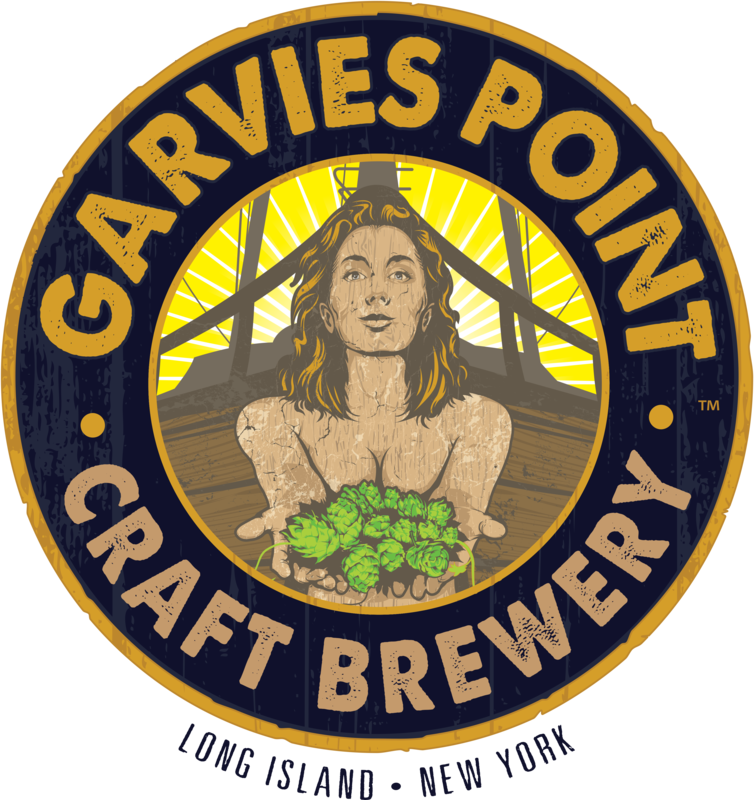 Garvies Point Hop Aboard Double Rice IPA beer Label Full Size