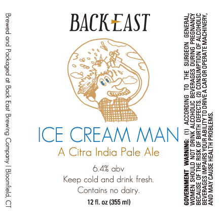 Back East Ice Cream Man Beer