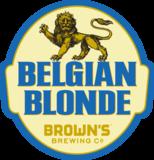 Browns Belgian Blonde Ale beer