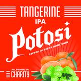 Potosi Tangerine IPA beer