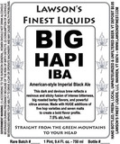 Lawson's Big Hapi India Black Ale beer