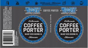Walnut River Coffee Porter beer Label Full Size