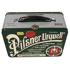 Pilsner Urquell Lunchbox beer Label Full Size