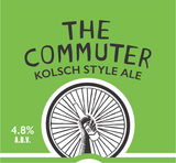 One Barrel Commuter Kolsch-style Ale beer