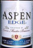 Coors Aspen Edge beer