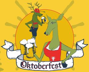 Pinelands Oktoberfest beer Label Full Size