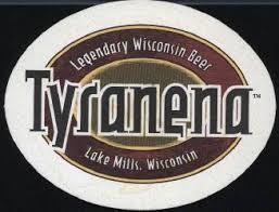 Tyranena Sailors Take Warning! beer Label Full Size
