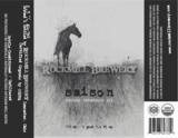 Rockmill Saison beer