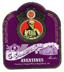 Schneider Aventinus beer Label Full Size
