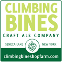 Climbing Bines Honey Apricot beer Label Full Size