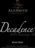 AleSmith Decadence 2015 Anniversary Ale beer