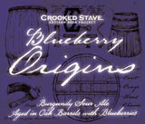 Crooked Stave Blueberry Origins Beer