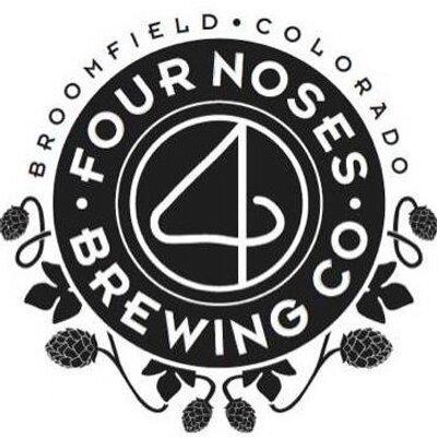 4 Noses Peachopotamus beer Label Full Size