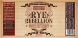 Full Pint Rye Rebellion beer