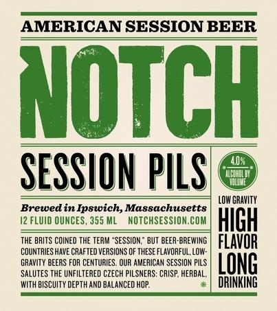 Notch Session Pils beer Label Full Size
