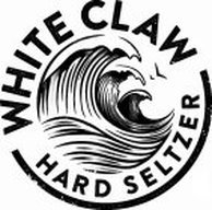 White Claw Hard Seltzer Natural Lime beer Label Full Size