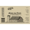 Middle Brow Show Me Love beer Label Full Size