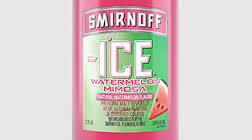 Smirnoff Ice Electric Watermelon beer Label Full Size