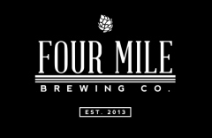 Four Mile Fourward beer Label Full Size