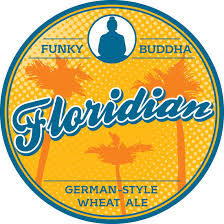Funky Buddha Floridian Hefeweizen beer Label Full Size