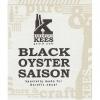 Brouwerij Kees Black Oyster Saison beer Label Full Size