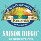 Green Flash Saison Diego beer
