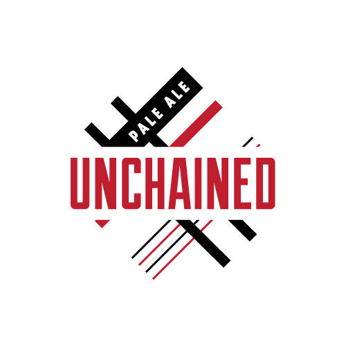 Fairfield Craft Ales Unchained beer Label Full Size
