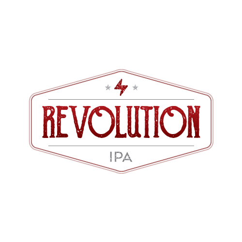 Fairfield Craft Ales Revolution beer Label Full Size