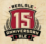 Real Ale 15th Anniversary Ale beer