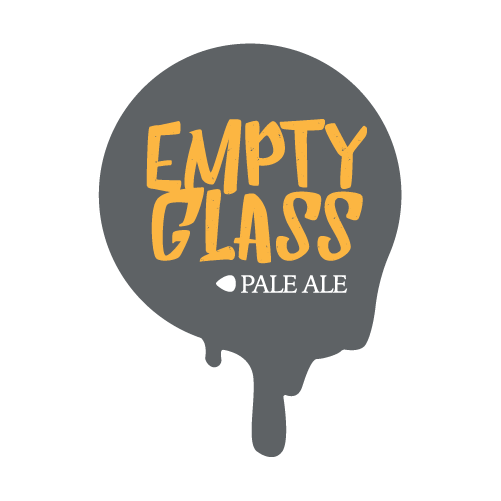 Fairfield Craft Ales Empty Glass beer Label Full Size